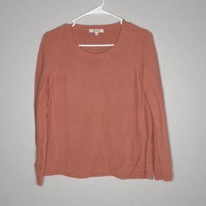 Madewell Riverside Scoopneck Terracotta Sweater